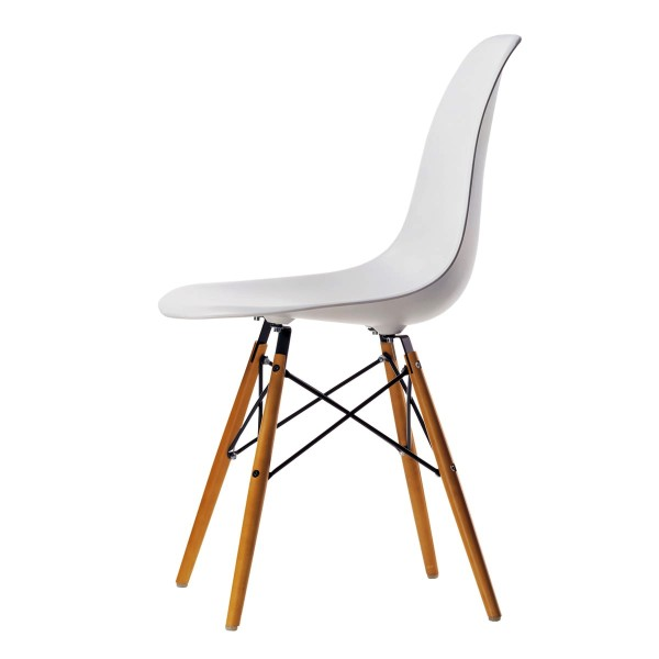 VITRA 'DSW' Eames Plastic Side Chair