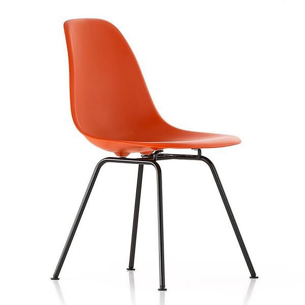 VITRA 'DSX' Eames Plastic Side Chair
