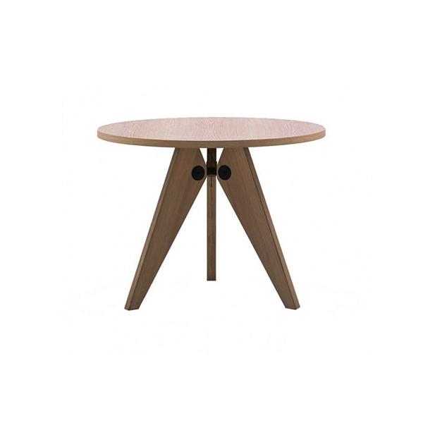 VITRA 'Table Guéridon' Holztisch Ø105