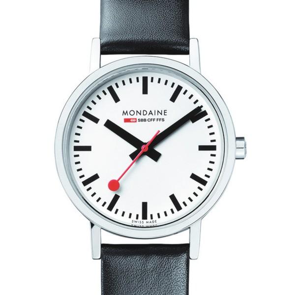 MONDAINE 'Classic' Armbanduhr Ø30 matt