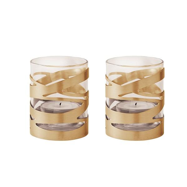STELTON 'Tangle' Teelichthalter 2er-Set
