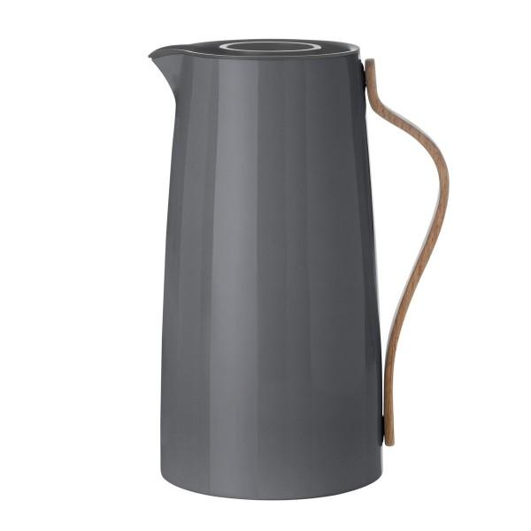 STELTON 'Emma' Isolierkanne Kaffee grau