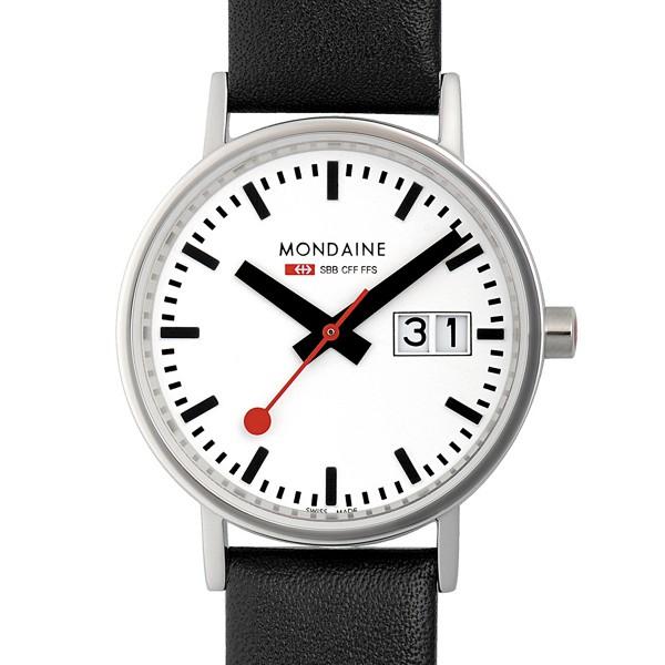 MONDAINE 'Classic' Armbanduhr Ø33 poliert