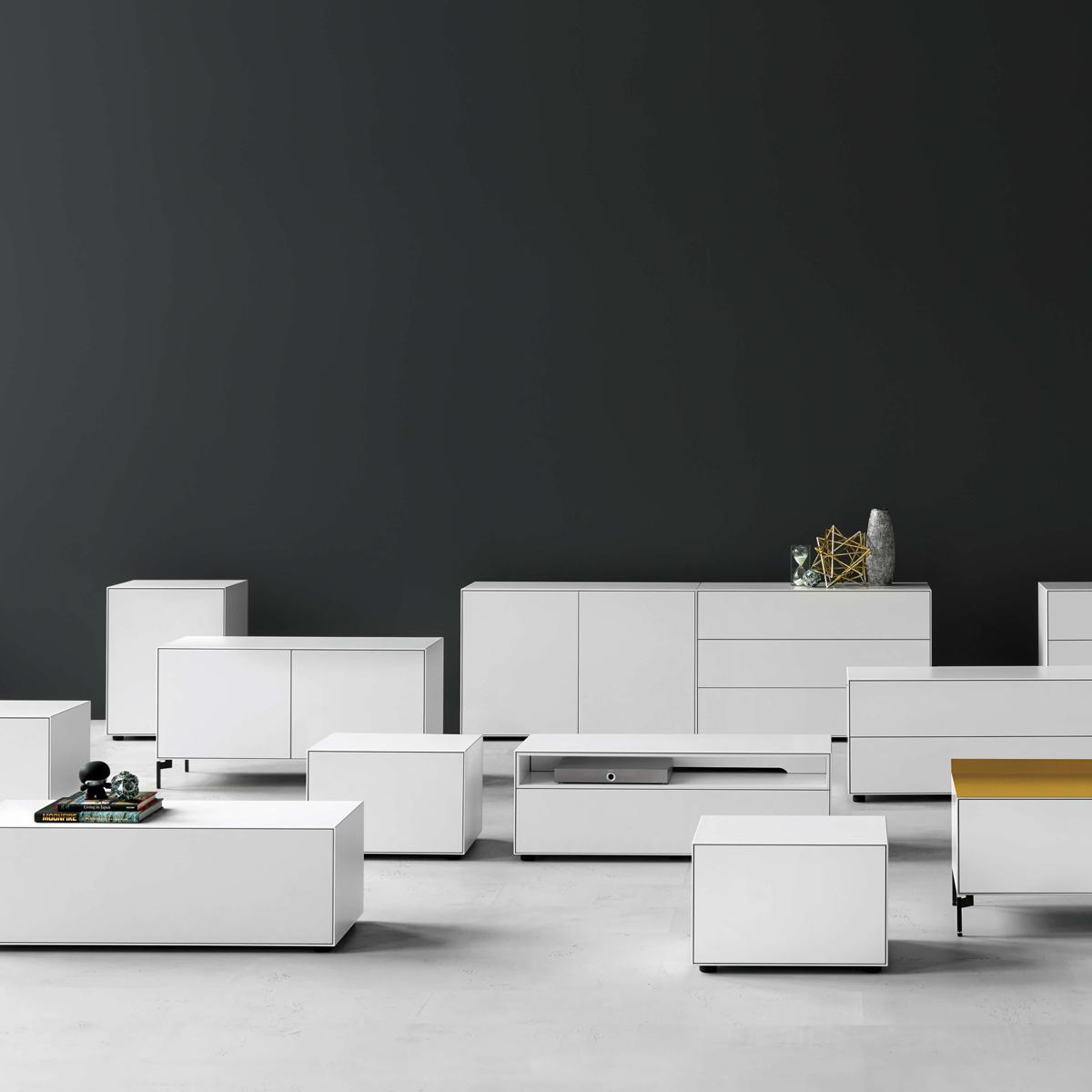 piure nex pur box sideboard nennmann form und funktion. Black Bedroom Furniture Sets. Home Design Ideas