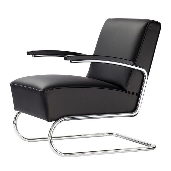 THONET 'S411' Freischwinger Sessel