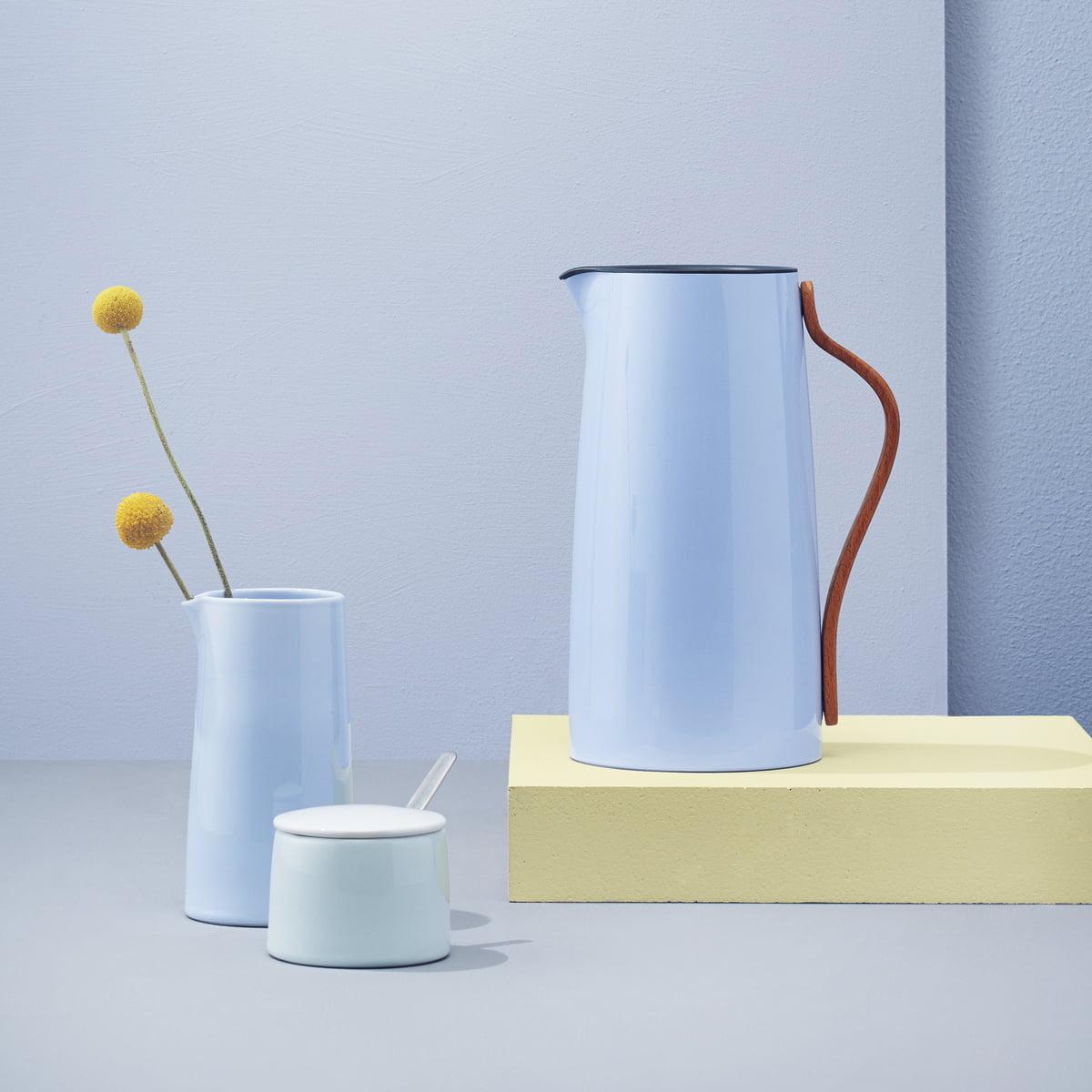 stelton isolierkannen 1 0 l in verschiedenen farben bei nennmann form und funktion. Black Bedroom Furniture Sets. Home Design Ideas