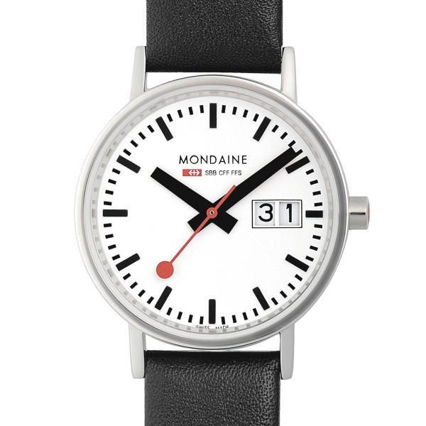 MONDAINE 'Classic' Armbanduhr Ø33 matt
