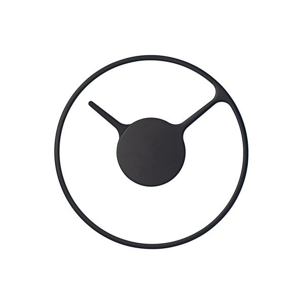 STELTON 'Time' Wanduhr Ø22 schwarz