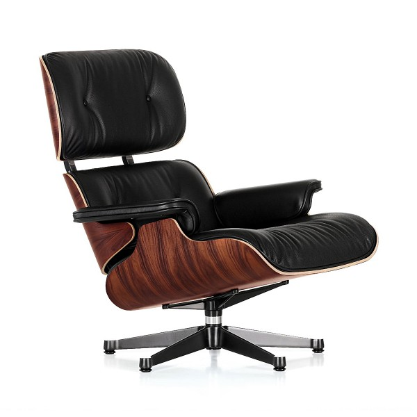 VITRA 'Lounge Chair' Loungesessel Palisander