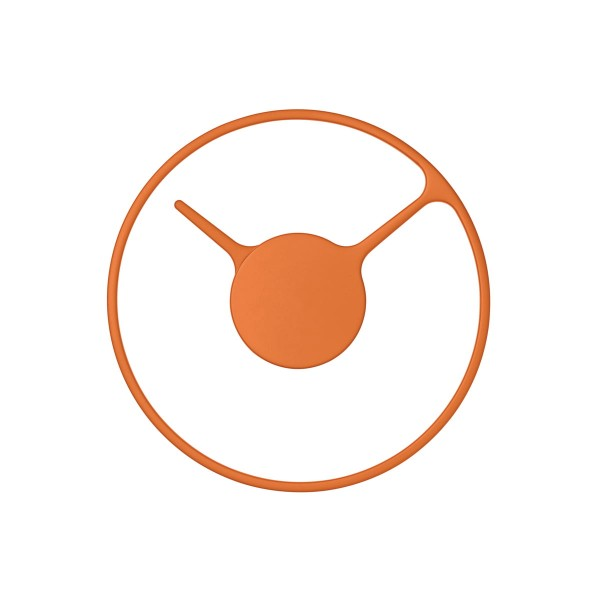 STELTON 'Time' Wanduhr Ø22 orange
