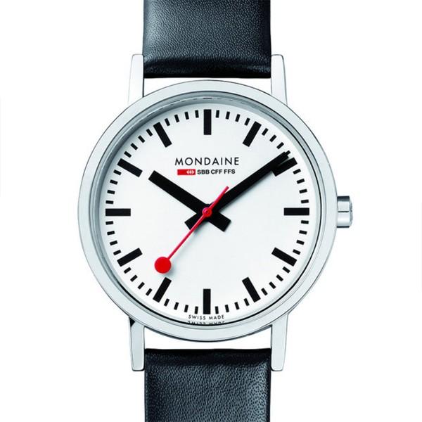 MONDAINE 'Classic' Armbanduhr Ø30 poliert